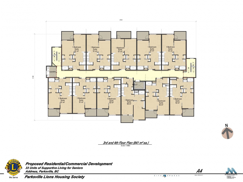 Parksville lions hustwick place residential projects for Floor plans victoria bc