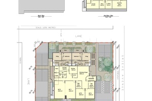 Floor plans and Site Plan